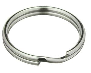 100 anillos clave Ø 50 mm clave anillos key rings endurecido acero galvanizado