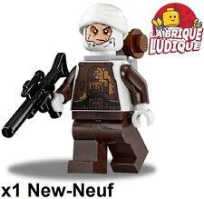 Lego Figurine Minifig Star Wars Dengar + blaster gun sw751 75145 NEUF