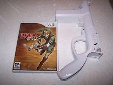 Zelda LINK'S CROSSBOW TRAINING + Controlador-NINTENDO WII-PAL Reino Unido