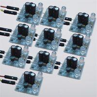 10Pcs DIY Kit 5MM LED Simple Flash Light Simple flash Circuit Production Suite