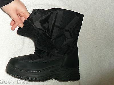 Ella Adulto Para Niños Unisex Chicas Chico de nieve divertido Botas Gruesa De Invierno Nuevo Kids Zapatos
