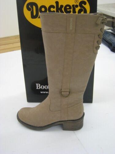 DOCKERS Bottes Femmes Boots paragraphe Taupe Bottes Femmes Chaussures neuf 294453-129013
