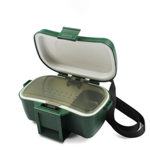Lebende Köderboxen Gerätebox Angelkoffer Angelbox Gerätekoffer Wärm Isoliert