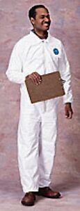 DUPONT-TY125S-L-LARGE-TYVEK-COVERALLS-EWA-ELASTIC-WRIST-ANKLE-CS-25