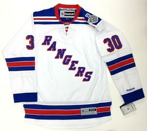 HENRIK LUNDQVIST NEW YORK RANGERS 2014 STANLEY CUP REEBOK PREMIER ... 3382e78ed
