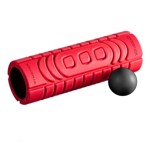 Gymstick Massagerolle Faszienset Rolle und Ball Neu