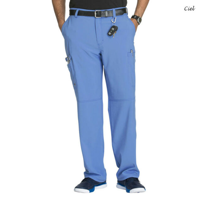092c2a0c6f9 Infinity by Cherokee Ck200at Men's Tall Fly Front Pant Medical ...