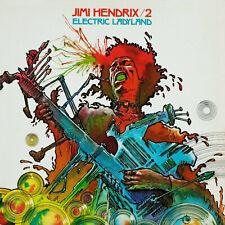 Jimi Hendrix Electric Ladyland 1968 Album Art Canvas Poster Print Music Icon Cd