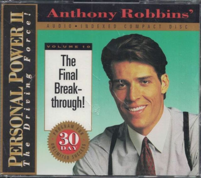 Anthony Robbins Personal Power II Volume 10 The Final Breakthrough Sealed CD Set