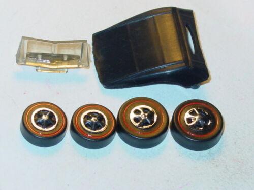 /& GLASS -Black Hot Wheels Redline CLASSIC CORD REPRO KIT TOP WHEELS NEW MOLD!