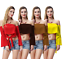 Sexy-Off-Shoulder-Women-Shirt-Long-Sleeve-Crop-Top-Ruffle-Frill-Strapless-Blouse thumbnail 2