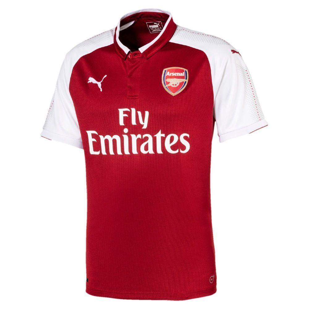 Puma Fußball AFC Arsenal London Home Trikot Heimtrikot 2017 2018 Herren rot weiß