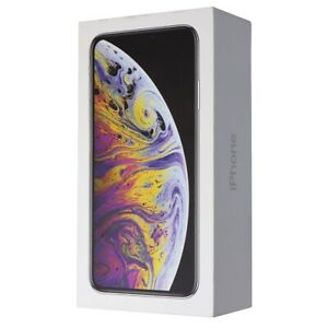 RETAIL-BOX-Apple-iPhone-Xs-64GB-Silver-NO-DEVICE
