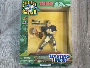 DREW BLEDSOE / New England Patriots 1998 NFL Gridiron Greats Starting Lineup NIB