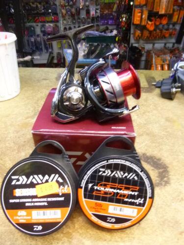 Daiwa Ninja Reel 3000da double handle  2 SPOOLS ST LINE 300M PELLET WAGGLER??