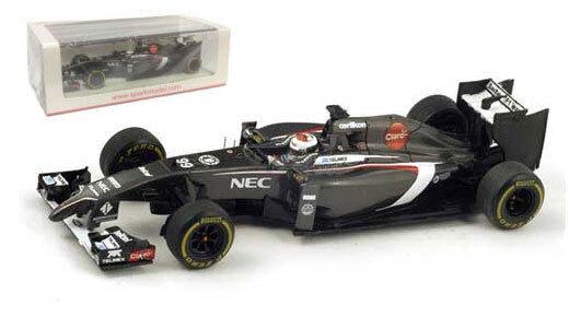 Spark s3076 sauber c33   99 Australian GP 2014-Adrian Sutil, échelle 1 43,