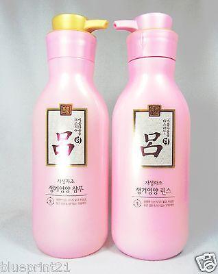 (1+1) Ryo Jasaeng Whacho Nutrition Shampoo 400ml + Conditioner 400ml Set