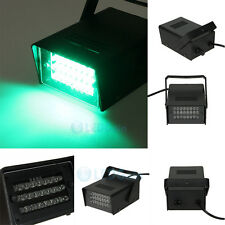 Green Mini DJ Strobe Light Flash Light Club Stage Lighting Party Disco 24 LED