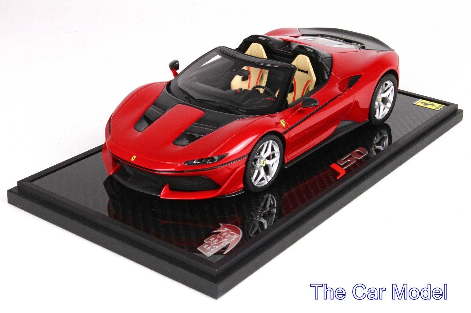 Mejor precio Ferrari J50th aniversario rojo Rojo en la la la base de Cochebono-LTD 24 piezas BBR 1 18  Ahorre 60% de descuento y envío rápido a todo el mundo.