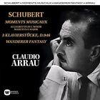 Schubert Claudio Arrau - Moments Musicaux Klavierstucke Wanderer CD