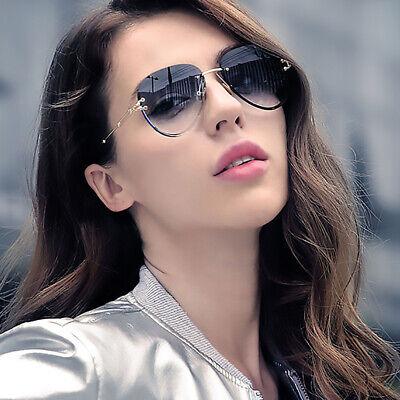 2020 Rimless Sunglasses For Women Fashion Pilot Shades Eyewear Outdoor Glasses Ebay