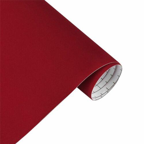 Velvet Fabric Film Suede Vinyl Wrap Film Car Stickers Adhesive Decal 30*100cm
