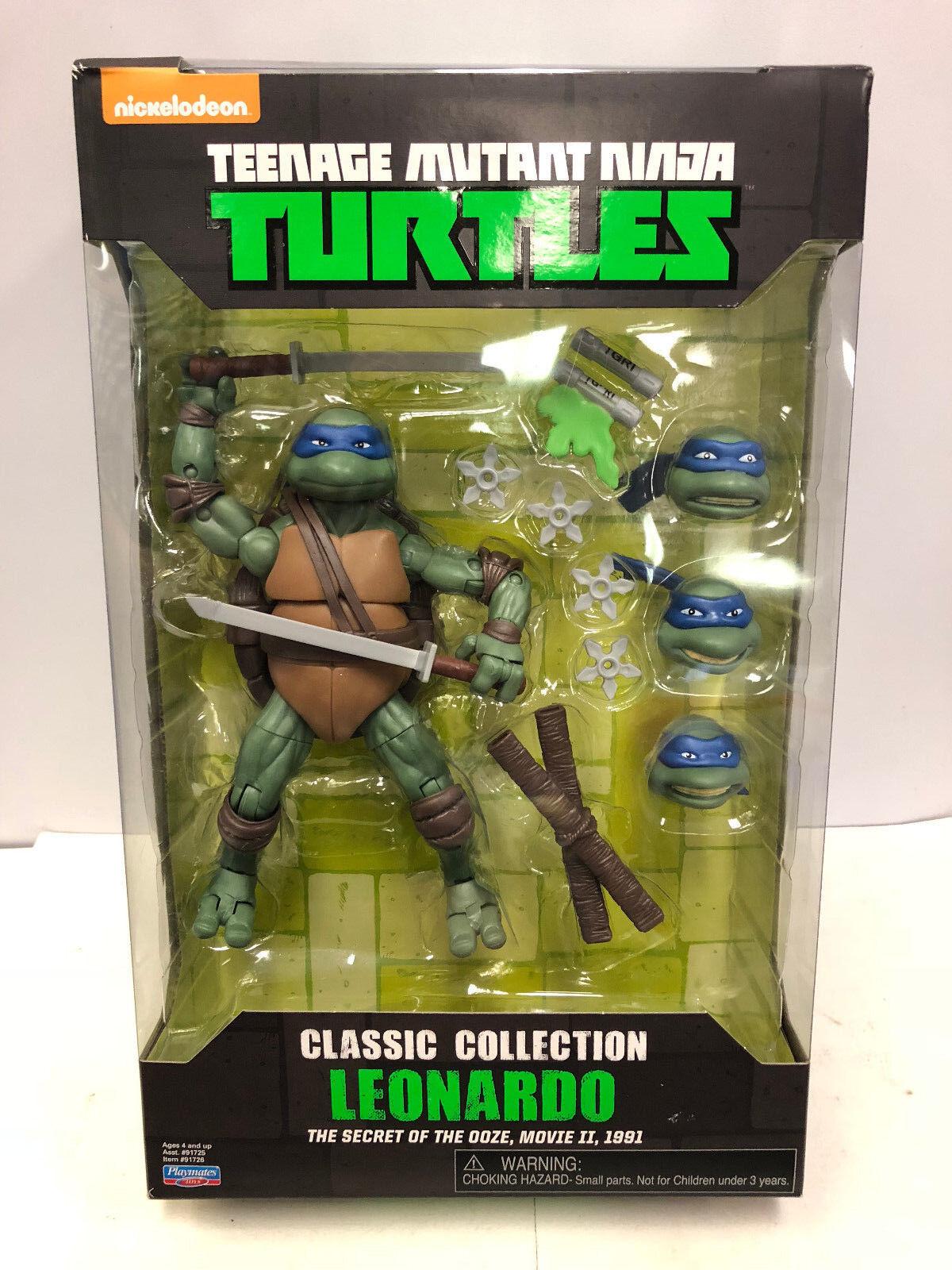 Teenage Mutant Ninja Turtles Classic Collection Movie Leonardo Figure Playmates