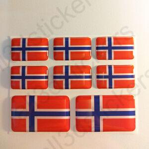 Pegatinas-Noruega-Pegatina-Bandera-Noruega-Vinilo-Adhesivo-3D-Relieve-Resina