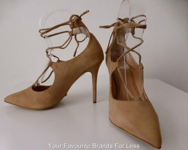 TONY BIANCO  rrp $219.99 Size 9 Lace Up High Heel Pumps Shoes