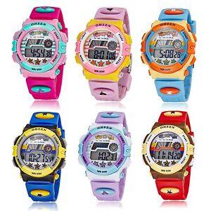 Waterproof-Boy-Kids-Child-Digital-LED-Quartz-Alarm-Date-Sports-Wrist-Watch