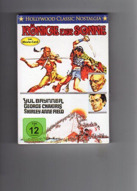 Yul Brynner  Könige der Sonne mit Pappschuber  (DVD) NEU OVP