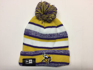 Minnesota Vikings winter hat one size knit beanie Sam Bradford New ... e32aa2443