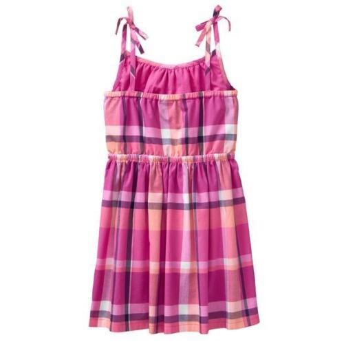NWT Gymboree Bright Days Ahead Plaid Dress Girls 5,7,8,10,12