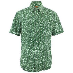 Verde Pois Rétro Camicia Cuori Fatto Misura Loud Su Psichedelico Uomo x4nHwqfF