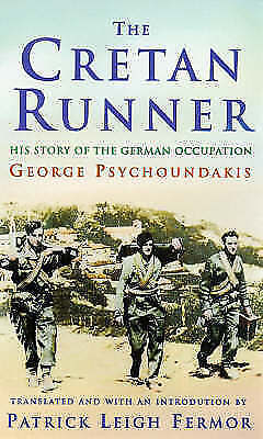The Cretan Runner: The Story of the German Occupation-ExLibrary