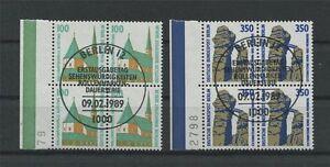 BERLIN-DAUERSERIE-834-835-SWK-1989-4ER-BLOCK-s-ideal-ESStpl-c3668