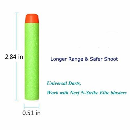 200 Dart Refill Pack for Nerf Zombie N-Strike Elite and more Green 200 for Nerf