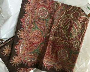 Pottery-Barn-Norwood-Pillow-Cover-18-sq-Paisley-Throw-Sofa-Accent-New