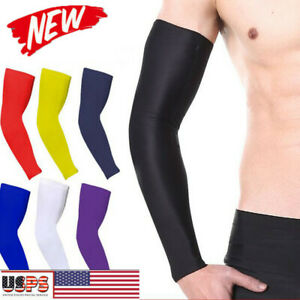 Arm-Sleeve-Basketball-Hiking-Elbow-Support-Compression-Elasticated-Arm-protector