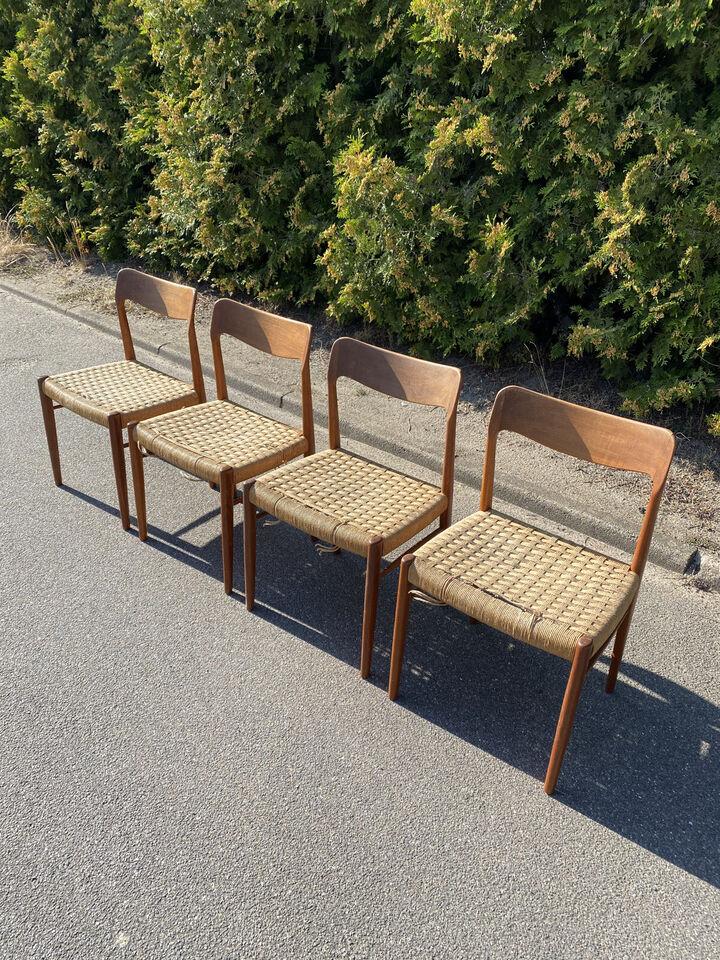 Fletstole i teaktræ