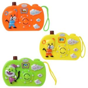Cartoon Animal Light Projection Camera Kids Toy Educational Toys Children Gift