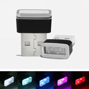 couleur rgb led usb mini voiture sans fil d 39 clairage. Black Bedroom Furniture Sets. Home Design Ideas