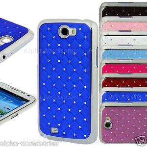 Lujo-Brillantes-Caja-Diamante-Cromo-Diseno-Funda-para-Samsung-Galaxy-Note-2