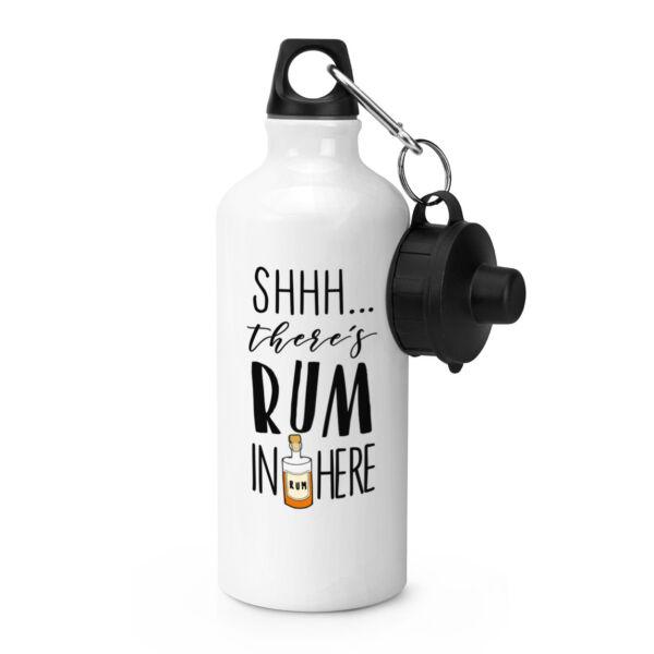 - Non Giurare Non C'è Rum Qui Bevande Sportive Bottiglia D'acqua-divertente
