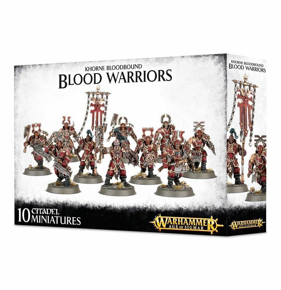 Khorne Bloodbound Blood Warriors Age of Sigmar Games Workshop 20% off UK rrp