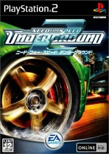 Usedgame Ps2 Need For Speed Underground 2 Japan Import