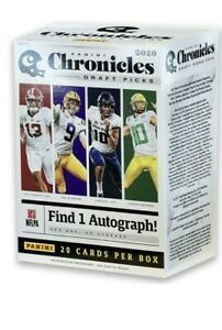 2020-Panini-Chronicles-Draft-Picks-Football-Blaster-Box-Factory-Seal-Tua-Burrow