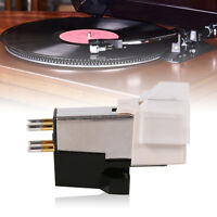 Record Player Phonograph Needle Pickup Stylus Moving Magnet Cartridge w/ Screw J