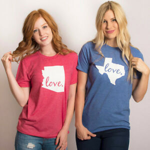 Women-Valentine-039-s-Day-LOVE-Letter-Printed-Short-Sleeve-T-Shirt-Blouse-Tops-Hot