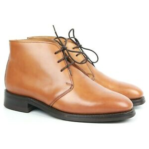 Tricker-039-s-Brown-Tan-Leather-Chukka-Boots-Men-039-s-UK-7-F